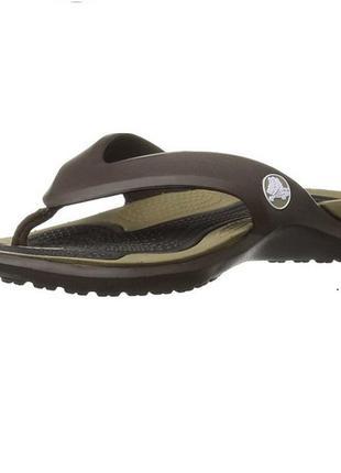Вьетнамки crocs unisex modi flip-flop, раз.w6 - 23,5см