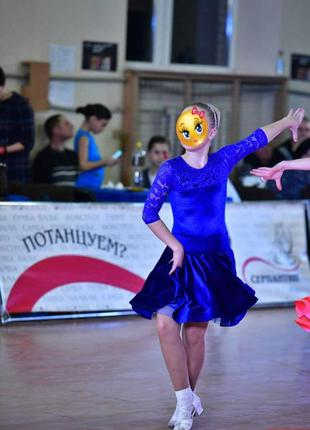 Рейтинговое платье бейсик для бальных танцев.