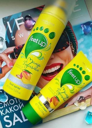 Крем для ніг «манго і женьшень»