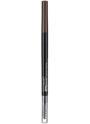 Карандаш для бровей maybelline brow precise micro  с тонким грифелем