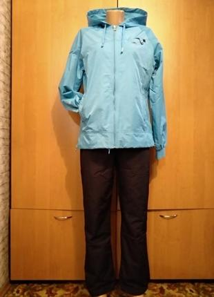 Крутой непромокаемый спортивный костюм пог 53 см турция