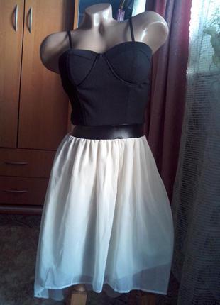 Модное брендовое платье c асимметричным низом ( шлейф )