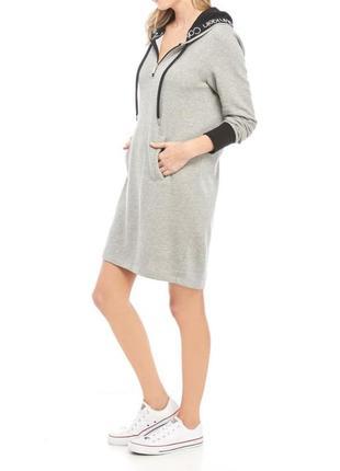 Спортивное платье с капюшоном calvin klein