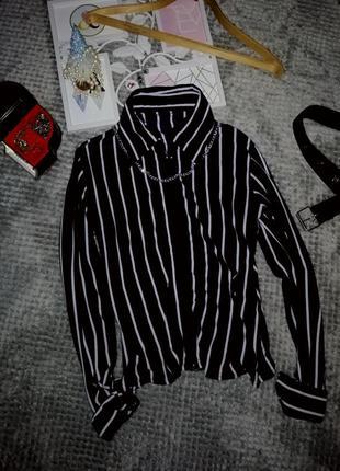 Супер цена 😍 женская рубашка / блузка в полоску