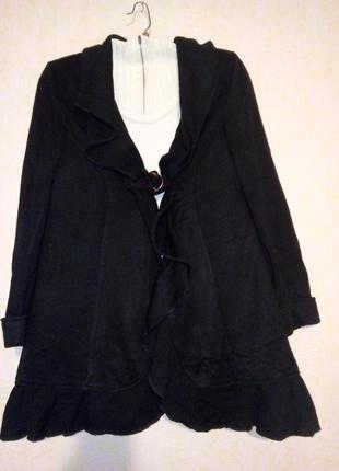 Теплый кардиган на подкладке 54-56 размер