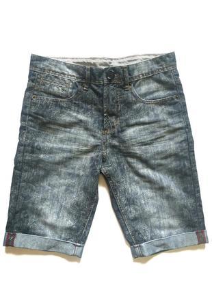 Мужские классические джинсовые шорты