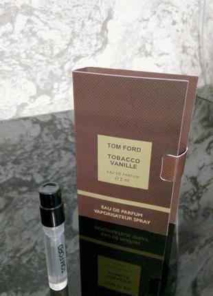Tobacco vanille  tom ford _original mini vial spray 2 мл книжка миниатюра пробник