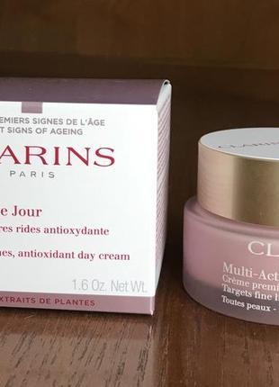 Clarins multi active jour 50 мл