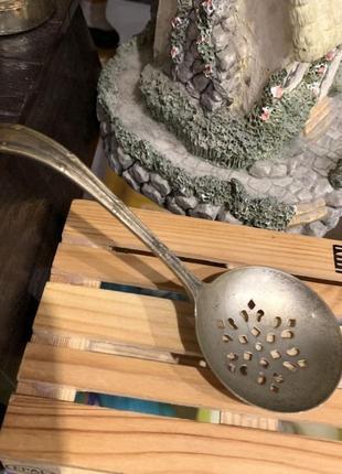 Антикварная ложка для сервировки маринадов epns англия