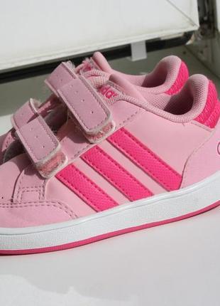 Легкие кеды на девочку adidas 23 размер оригинал
