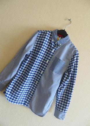 Рубашка mini boden ( 11-12 лет).