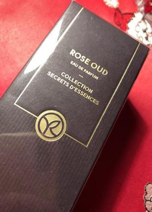 Rose oud роза уд ив роше yves rocher парфумована вода