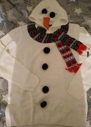 Эксклюзивный свитер с шарфиком , ☃️...