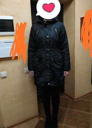 Куртка парка два в одном
