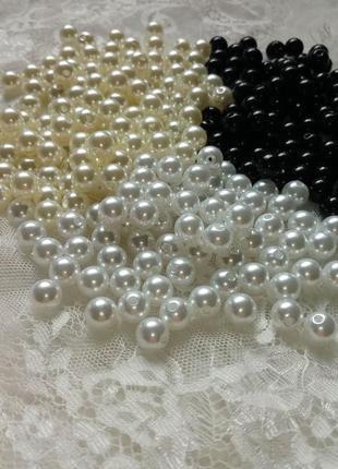 Жемчужное ожерелье, бусы, колье, бижутерия для вечеринки 20-х, чикаго, гетсби, ганстеры
