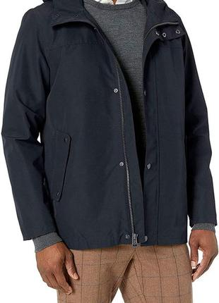 Куртка ветровка с капюшоном cole haan rain hooded jacket original