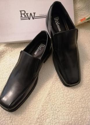 Мужские туфли 11,5d usa