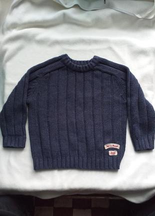 Теплый и толстый свитер