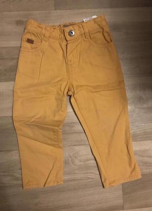 Стильные горчичные брюки на модника