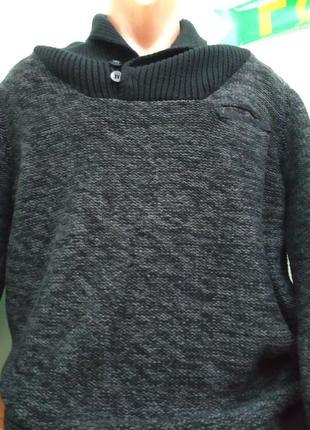 Фірмовий чоловічий светр gemo, 100% коттон
