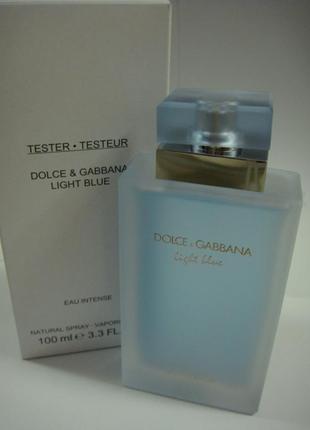 Dolce&gabbana_light_blue_eau_intense_парфюмерная вода.есть подарки.