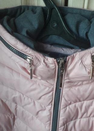 Куртка стеганая icebear пудра 46 р.