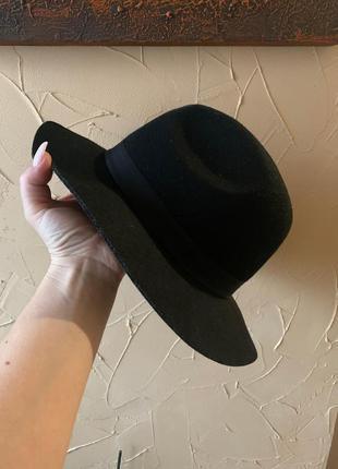Шляпа черная 57см cotton on ковбойка