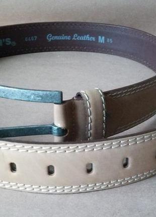 Ремень кожаный colin's размер м 85