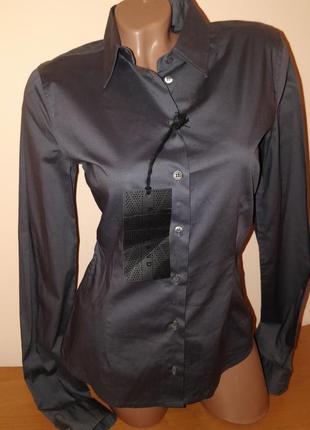 Женская классическая коттоновая рубашка бренд richmond