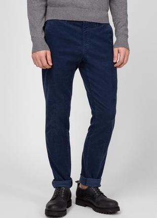 Фирменные вельветовые брюки tommy hilfiger