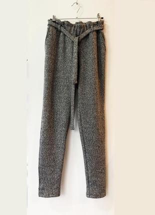 Теплые брюки букле