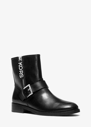 Стильнячии кожаные ботинки michael kors оригинал размер 8,5 наш 39