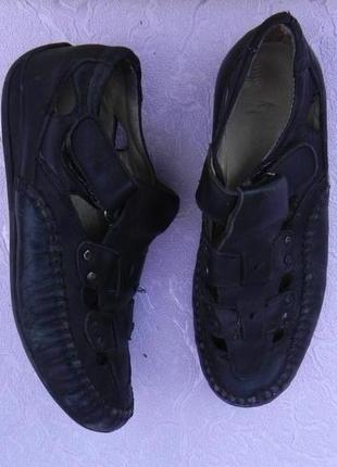 Летние туфли сандалии босоножки кожа 32 размер 20,5см стелька