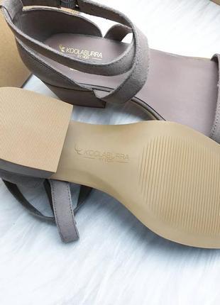 Koolaburra by ugg замшевые босоножки цвета на удобном каблуке2 фото