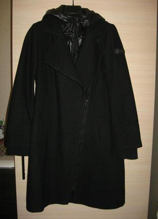 Пальто теплое на синтепоне esprit размер s-m