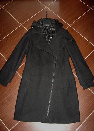 Пальто теплое на синтепоне esprit размер s-m2