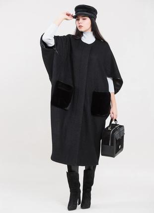 Шикарное пальто бренда  маха maxa