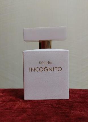 Женская парфюмерная вода incognito от faberlic