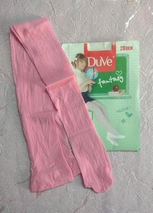 Колготки розовые капроновые подростковые duna 20 den