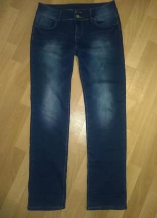 Зимние джинсы утеплённые