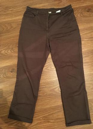 Коричневые джинсы из коллекции c&a