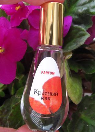 Белорусские духи красный мак.