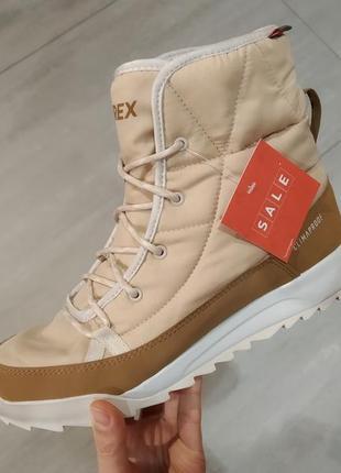 Красивые очень теплые ботинки adidas terrex оригинал