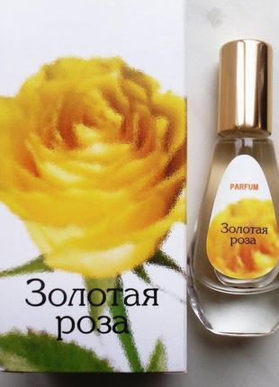 Белорусские духи золотая роза.
