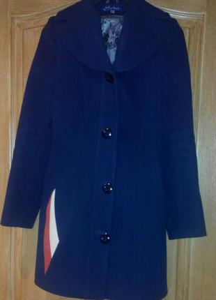 Пальто весеннее, с поясом