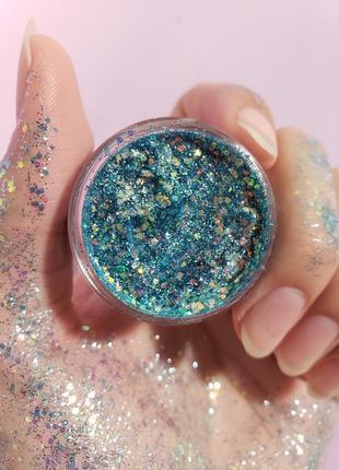 Глиттер-гель glitter gel