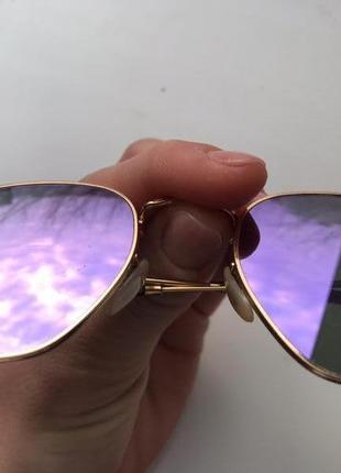 Очки ray-ban hexagonal flat lenses rb3548n 001/8o