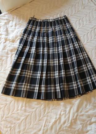 Красивенная юбка в клетку viyella