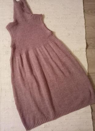 Итальянская шерстяная туника / платье