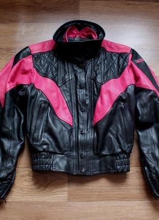 Куртка мото байкерка ixs оригінал шкіра кожа